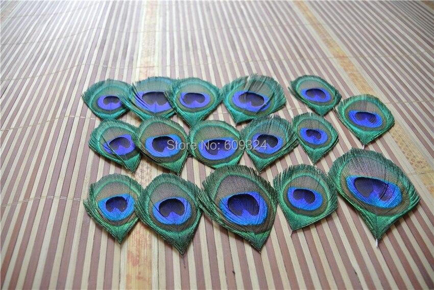 """Павлиньи глаза обрезаны шириной 3-5 см(1-"""") для ювелирных изделий ремесло, скрапбукинга или волос(100 шт./лот"""