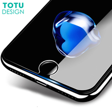 9H Tempered Glass for iPhone X 10 8 7 Plus TOTU Screen Protector 3D Protective Glass  0.23MM Toughened Glass Screen Film