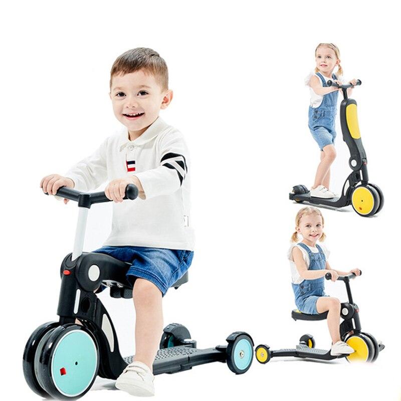 Jouets pour enfants balance walker enfants ride jouet cadeau pour enfants pour apprendre à marcher scooter enfant vélo voiture sans fil - 2