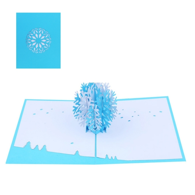 Aliexpress buy 3d snowflake pop up greeting cards valentine 3d snowflake pop up greeting cards valentine lover happy birthday anniversary sep 13a m4hsunfo