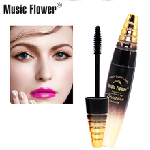 Music Flower Seductive Mascara Volume Thick Lush Long Lasting Eyes Makeup Curling Eyelashes Extension Liquid Waterproof