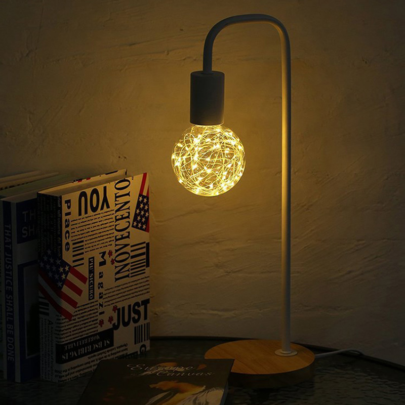 2018 Vintage Design Fairy String Light LED Bulb G95 G60 E27 220V Filament Lamp For Decor Christmas Holiday Wedding Lighting