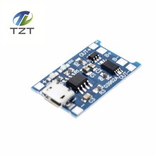 New 5Pcs/lot 5V 1A Micro USB 18650 Lithium Battery Charging Board Charger Module+Protection Dual Functions