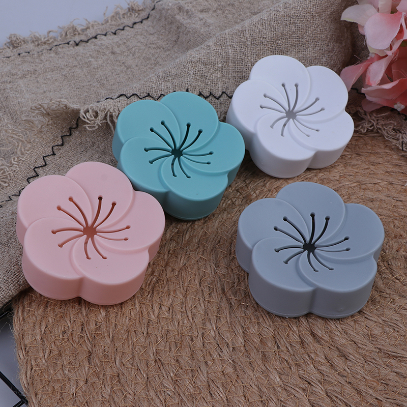 Flower Shape Air Fresh Box Eliminate Odors Aromatherapy Box Deodorizer Car Toilet Purifier Smell Absorber Freshener Box(China)