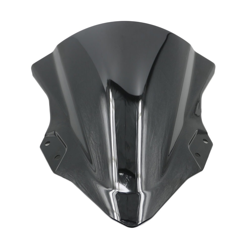 2018 For Kawasaki <font><b>Ninja</b></font> 250 <font><b>400</b></font> Motorcycle Windshield ABS Plastic <font><b>Windscreen</b></font> Ninja250 Ninja400 Black High Quality image