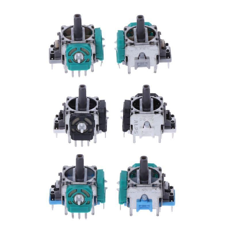 2Pcs 3D Analog Joystick Potentiometer Analog Axis Joystick Sensor Module For Playstation4 PS4 Contoller Repair