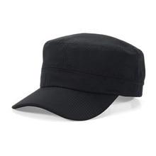828578366fee3a cyclamen9 Fashion Mens Womens Army Cap Sun Baseball Cadet Plain Cap Flat  Top Hats Brim Visor Hat Cap (Navy Blue)