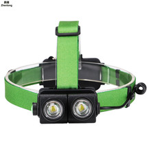 Mini T6 LED Flashlight 4 Modes Waterproof COB Outdoors Headlight Headlamp Head Light Lamp Torch Lanterna with Headband 18650 panyue 2 packs xml t6 cob led mini pocket flashlight work light penlight torch lamp high 1000lumens 6 modes camping lanterna