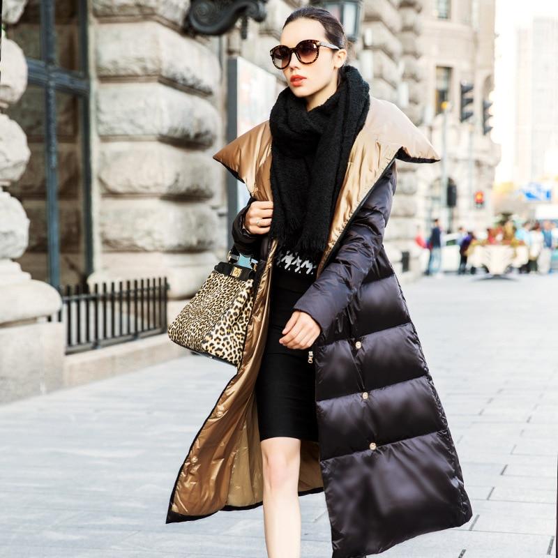 Aliexpress.com : Buy long thicken outerwear female duck down coat ...