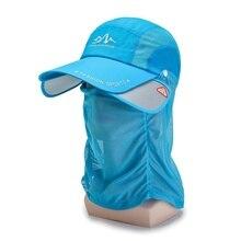 Outdoor Sports Hat Fishing Hiking Climbing Visor Hat UV Prot