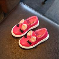 Children Shoes Girls Sneakers New Spring Autumn Cute Bow Fashion Princess Girls Shoes Kids Soft Casual