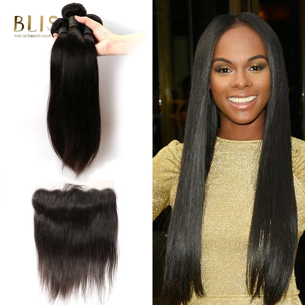 Bliss Hair Brazilian Hair Weave Bundles Straight Bundles With