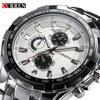 Brand Luxury Full Stainless Steel Strap Casual Quartz Watches Men Dress Military Wristwatch Waterproof Relogio Masculino