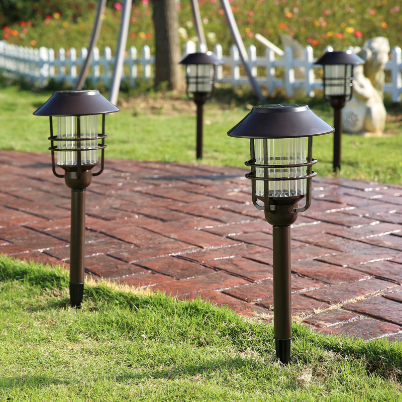 Waterproof IP54 Outdoor LED Light Garden Security Lamp Solar Power Fence Light Lamps Eme ...