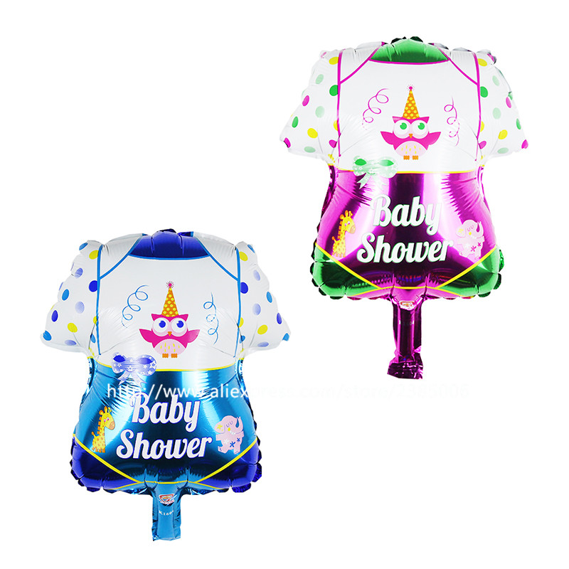 10pcs/lot It is a boy and its a girl baby boy foil balloons for Wedding Birthday Baby shower Party Decoration globos