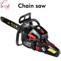 1pc High power gasoline saw hand held chain saw cutting wood machine oil logging saw machine portable garden tools 3.8KW