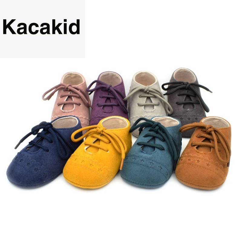 Hot Sale Baby Boys Shoes Newborn Toddler Shoes 8 Colors Infant Boys Girls PU Anti-slip Casual Sneakers Baby First Walkers
