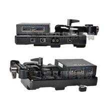 Tilta V-lock/Anton montagem Da Bateria Sistema de alimentação para D800 câmera Placa com HDMI Splitter