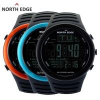 Hot NORTH EDGE Fishing Altimeter Barometer Thermometer Altitude Men Digital Watches Sports Climbing Hiking Clock Montre