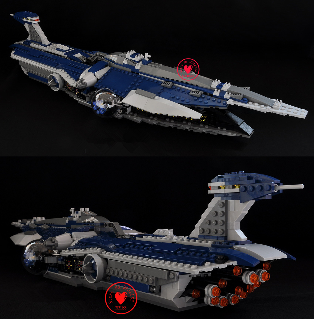 Lepin 05072 Star Wars Series The Limited Edition Malevolence Warship Set Children model Building Blocks Bricks Toys 9515 ynynoo lepin 02043 stucke city series airport terminal modell bausteine set ziegel spielzeug fur kinder geschenk junge spielzeug