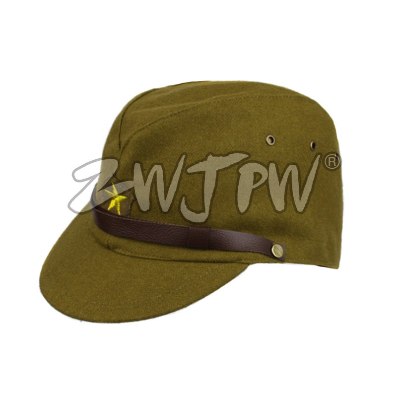 8ec5d0d551c WW2 WWII JAPANESE ARMY IJA OFFICER FIELD WOOL CAP HAT IJA OFFICER CAP JP 40103-in  Hiking Caps from Sports   Entertainment on Aliexpress.com