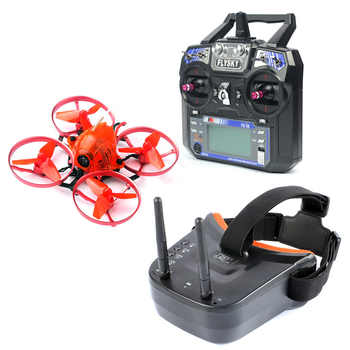 Snapper7 Brushless Micro 75mm 5.8G FPV Racer Drone 2.4G 6CH RC Quadcopter RTF 700TVL Camera VTX & Double Antenna Mini Goggles - DISCOUNT ITEM  19% OFF All Category