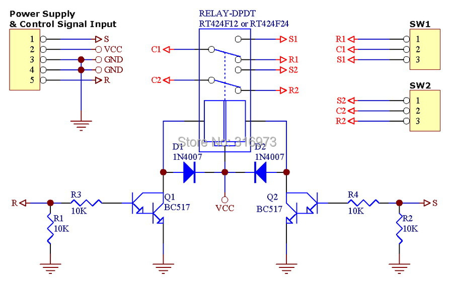 Dpdt Slide Switch Wiring Diagram 6 Pin 12 Volt Relay On 8 ~ Elsalvadorla