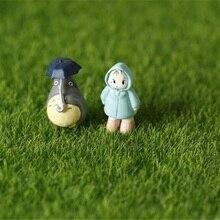 2pcs Miniature Garden Ornament DIY Mushroom Craft Pot Fairy Articial Lawn Grass