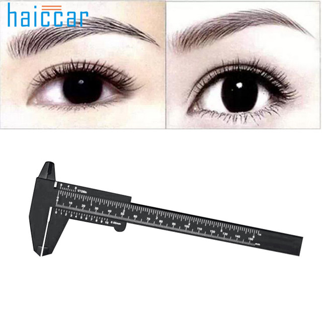 New Arrival HAICAR 1PC Microblading Reusable Makeup Measure Eyebrow Guide Ruler Permanent Tools Pretty Tattoo accesories 1