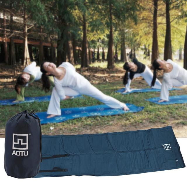 AOTU AT6204 Folding Inflatable Cushion Camping Sleeping Pat Lounger Back Pillow Cushion Outdoor Camping Hiking Mattress