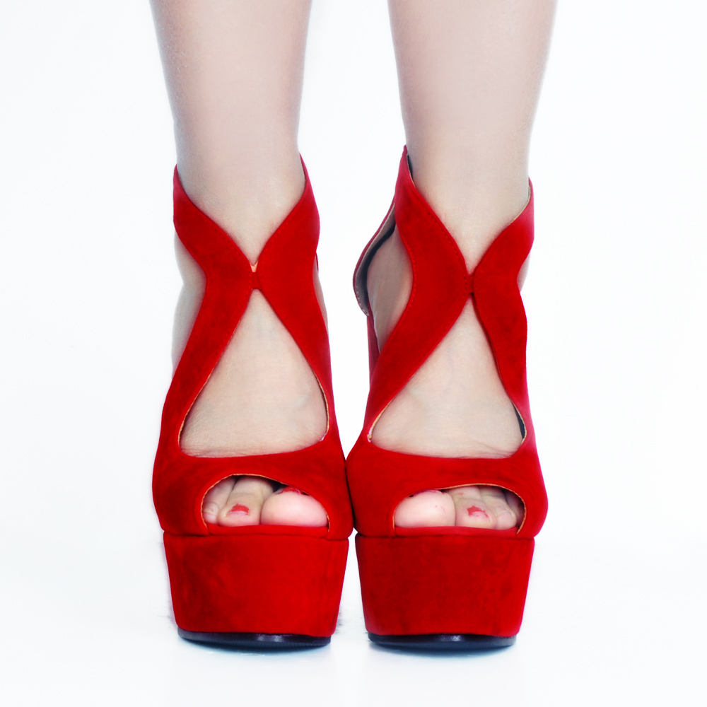 Élégant Taille De ef10942 Coins Sandales Sexy Chaussures Belle Toe Ef10941 Initiale Nous Rouge Plus Mode Pompes Femmes Femme L'intention Super 15 Peep 4 Noir wFXHqSWx