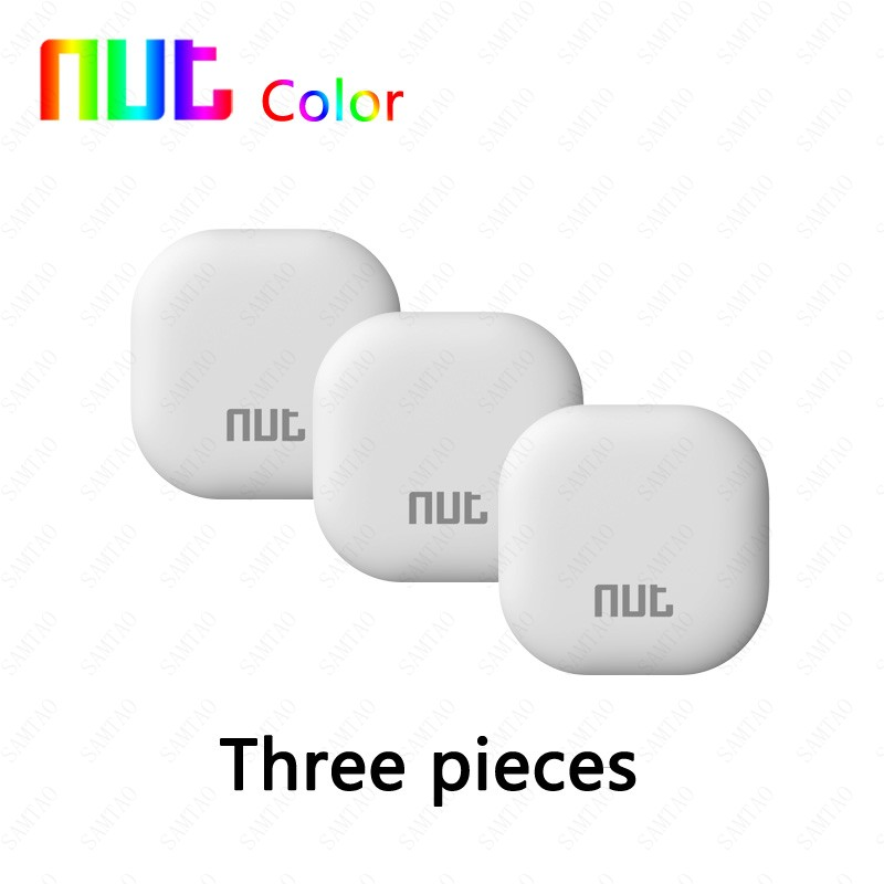 3 Pieces NUT color 3 3s 2 2s mini Smart finder Tag Wireless Bluetooth 4.0 Tracker Wallet Key Finder GPS Locator Anti Lost Alarm wireless smart anti lost smart finder tag tracker wallet key tracer bluetooth aniti lost locating tool for kids and pets