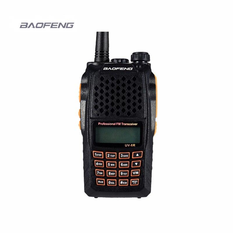 7 W nouveau baofeng uv-6r Scanneres talkie-walkie VHF/UHF 136-174 MHz/400-520 MHz hf émetteur-récepteur cb DTMF CTCSS cb comunicador pratique