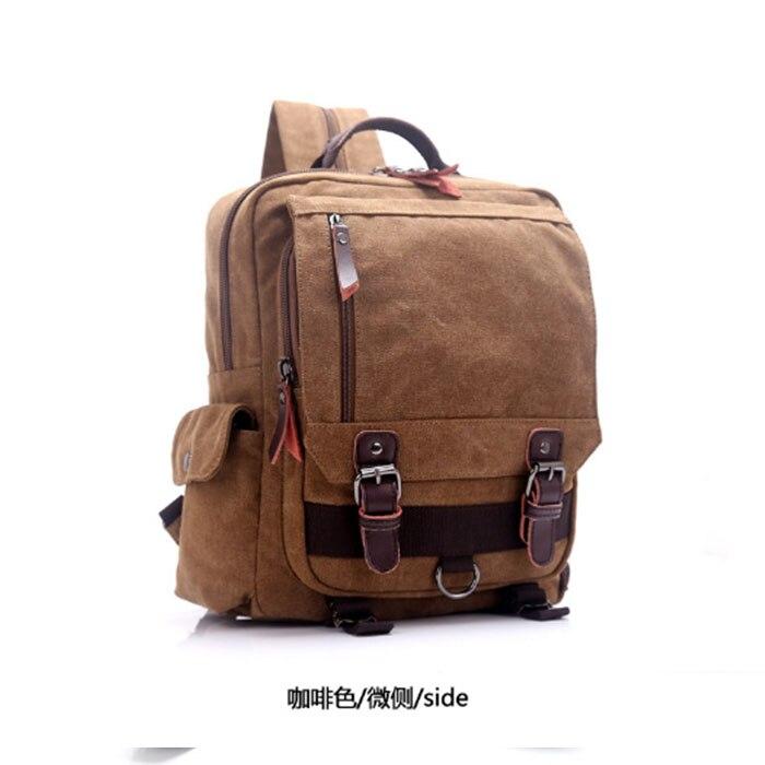 2018 nouveau sac à dos pour hommes de mode sac à dos pour ordinateur portable en toile sac d'ordinateur lycée étudiant collège étudiant sac mâle