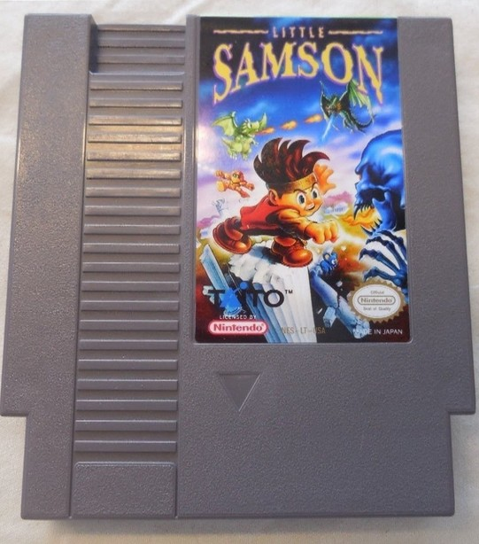 New arrival 72 pins 8 bit game cartridge free shipping — Little Samson