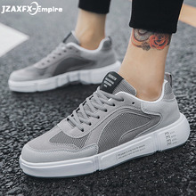 Male Breathable Comfortable Casual Fashion Shoes Men Canvas Shoes Lace up  Men Walking Sneakers 2019 yjrvfine wonderful meteor shower men casual shoes walking comfortable breathable unisex canvas pure hand painted shoes r1029m
