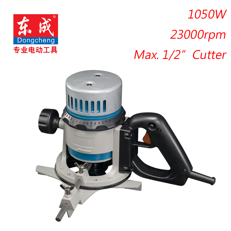 "1/2 ""Wood Trimmer 12.7mm Wood Router 1050W Elektrický Router 1/4"" Wood Trimmer 6,35mm"