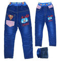 free shipment and wholesale 2014  cartoon SPIDER-MAN baby boy long pants denim jeans trousers kids children trousers LONG jeans