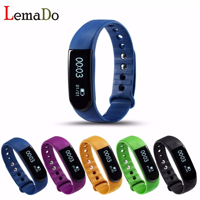 ID101HR Bluetooth SmartBand Wrist Bracelet fitness tracker heart rate monitor  wristband for IOS android PK ID107 Mi band2
