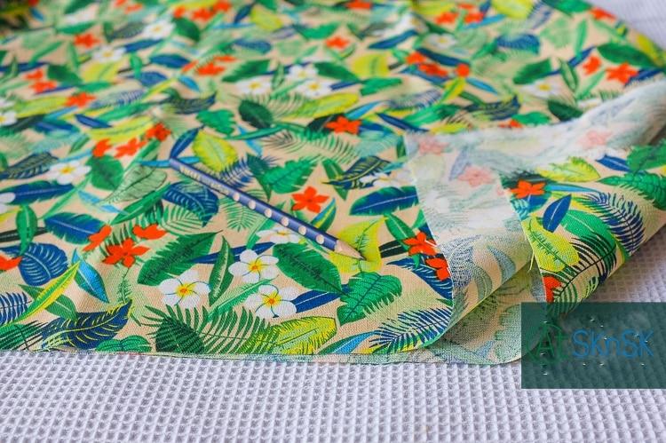 100*145 cm billigen stoff Hohe qualität DIY nähen Hawaiian dschungel ...