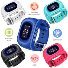 WISHDOIT Hot GPS Kids Watch Baby Smart Watch for Children SOS Call Location Finder Locator Tracker Anti Lost Monitor Smartwatch