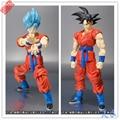 Nuevo Anime Fukkatsu No F Super Saiyan dios SS Goku Goku figura de acción de s.h Figuarts ( SHF ) Dragon Ball Z juguete 16 cm caja