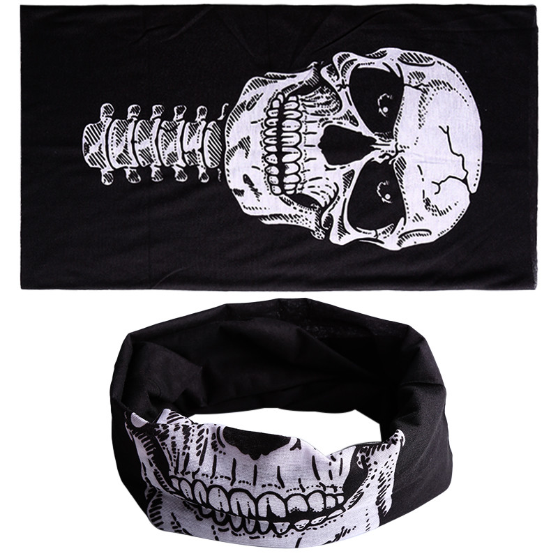 7e779930ab4 New 3 in1 Men Women Unisex Skull Hat Neck Tube Snood Face Mask Cap bonnet  Scarf Beanie Balaclava Halloween Punk Style Mask-in Skullies   Beanies from  ...