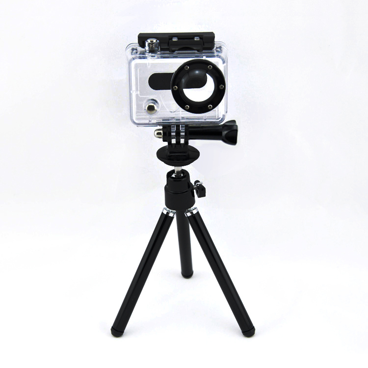 Universal Portable Mini xiaomi yi Tripod Stand , Flexible GoPro Tripod Mount Adapter for SJ4000 Go Pro Hero 4 3+ 3 2 xiao yi