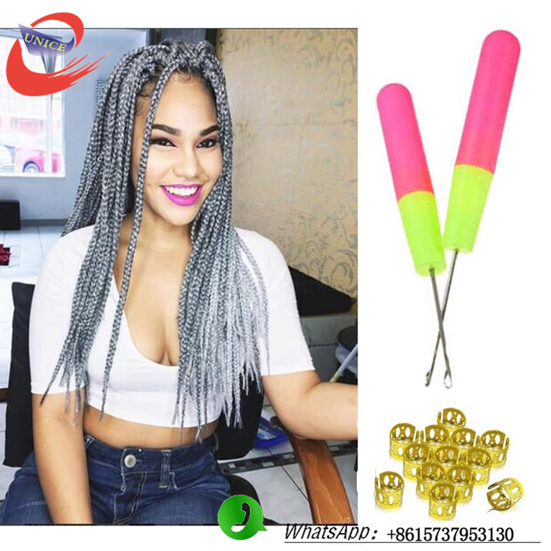 Crochet Box Braids Grey : crochet braids box braids african american kids hair extensions gray ...