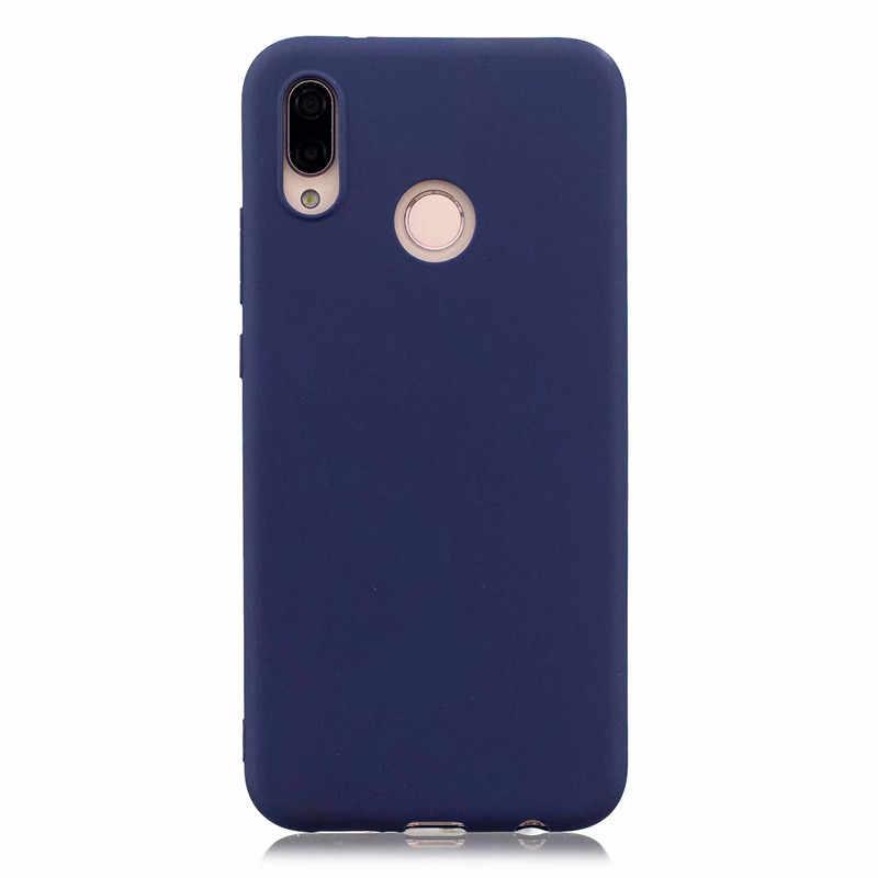 Dulce Macaron funda del teléfono para Huawei P30 P30 Pro para Huawei Honor V10 V9 de silicona suave de los casos