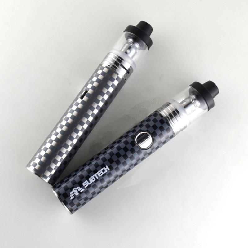 S22 60W e cigarettes vape mod 1800mah battery with 2 5ml atomizer 0 3 0 5 ohm tank vape pen electronic cigarette kit in Electronic Cigarette Kits from Consumer Electronics
