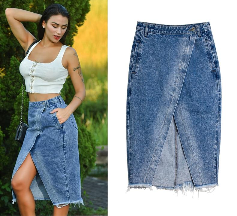 Skirt of female skirt hairline furl furl to wrap hip bull-puncher skirt irregular tassel tall waist skirt of halter MIDI skirt (11)
