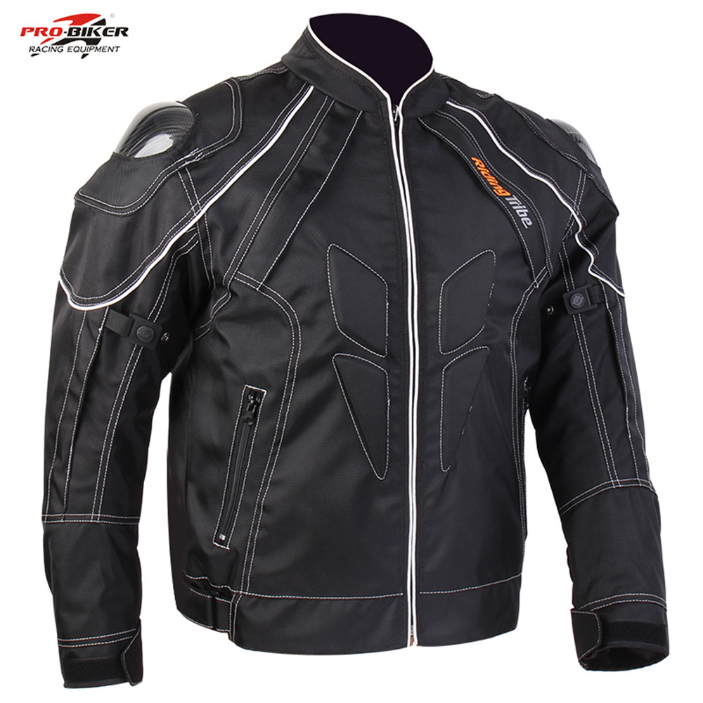 Men s Motorcycle Racing Jackets Street Road Protector Motocross Body Armour Jacket Carbon fiber moto Protective