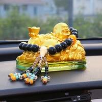 Car decoration Maitreya Buddha vehicle hanging accessories car perfume seat safety ornaments car pendant